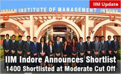 IIM Indore Shortlist