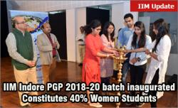 IIM Indore 2018-20 batch inaugurated