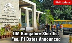 IIM Bangalore Shortlist