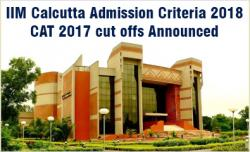 IIM Calcutta Admission