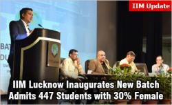 IIM Lucknow 2018-20 batch inaugurated with 447 students