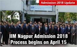IIM Nagpur admission 2018