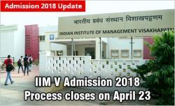 IIM Visakhapatnam Admission 2018