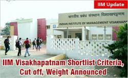IIM Visakhapatnam Shortlist