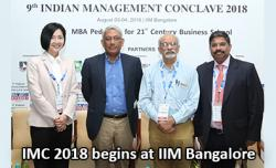 IMC 2018 Inaugurated at IIM Bangalore