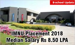 IMNU Ahmedabad Placement 2018