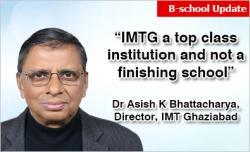 Dr Asish K Bhattacharyya, Director, IMT Ghaziabad