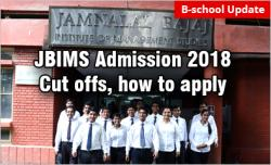 JBIMS Mumbai  Cut Offs 2018