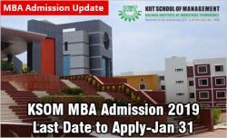 KSOM Bhubaneswar MBA Admission 2019