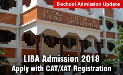 LIBA Admission 2018