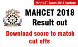 MAHCET 2018 result