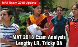 MAT 2018 Analysis May Exam