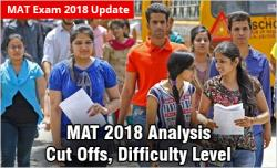 MAT 2018 Analysis