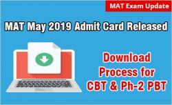 MAT Admit Card 2019 Download