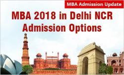 MBA admission in Delhi NCR