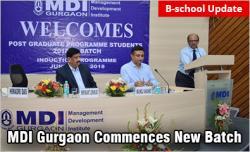 MDI Gurgaon Inaugurates New Batch 2018
