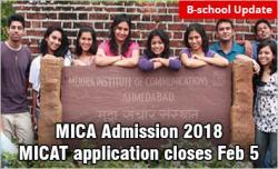 MICA Admission 2018