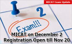 MICAT 2019 Exam Dates Announced