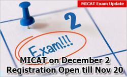 MICAT 2019 Exam Dates Announced