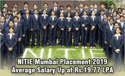 NITIE Mumbai Placement 2019