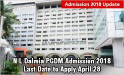 N L Dalmia Admission 2018