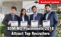 SDMIMD Placements 2018