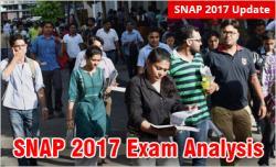 SNAP 2017 Exam Analysis