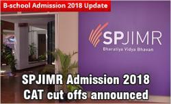 SPJIMR Admission 2018