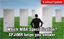 SPJIMR Mumbai MBA Specialization