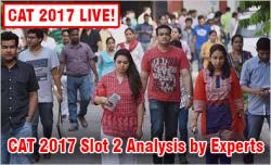 CAT 2017 Slot 2 Analysis