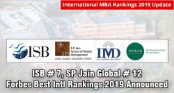 ISB Ranks #7, SP Jain Global #12 in Forbes