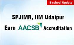 SPJIMR Mumbai, IIM Udaipur Earn AACSB Accreditation