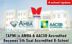 TAPMI Manipal Earns AMBA Accreditation