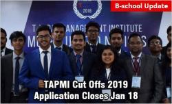 TAPMI Manipal Cut offs 2019