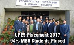 UPES MBA