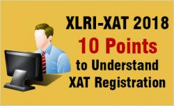 XAT 2018 registration