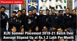 XLRI summer placement 2019
