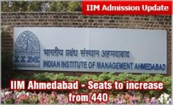 IIM Ahmedabad: Seats to increase from 440