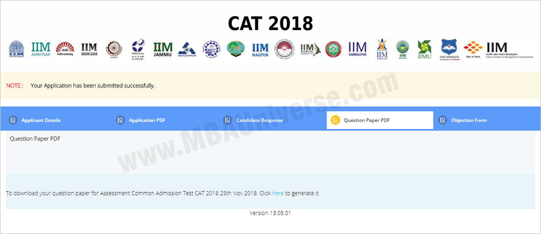 cat answer key login