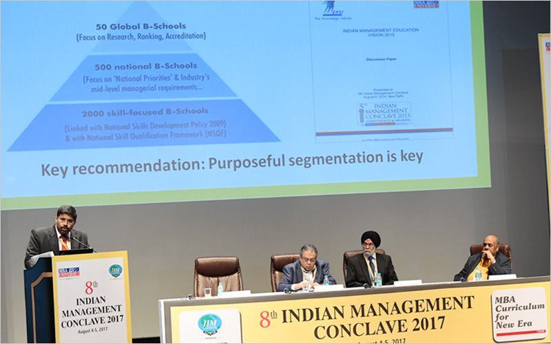 Aictes mba pgdm policy blueprint revealed at imc 2017 3 in his welcome address on august 4 amit agnihotri founder convener of imc had again revisited the vision 2025 framework malvernweather Image collections